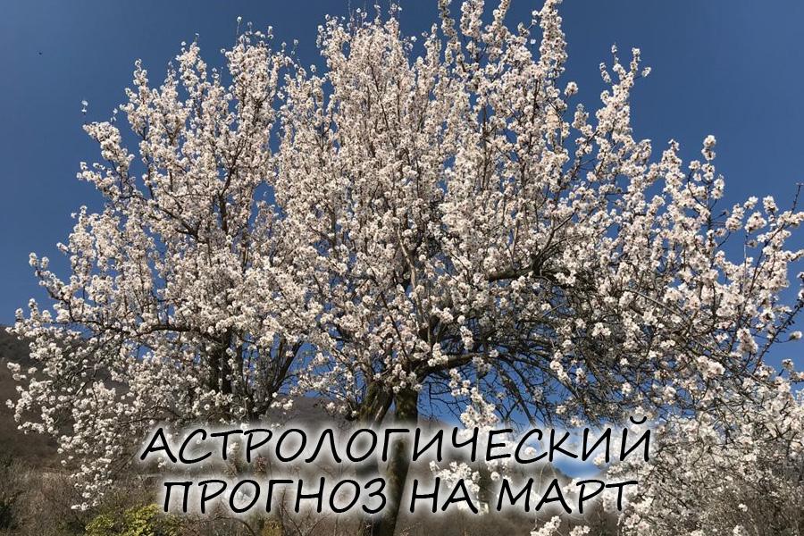 прогноз на март